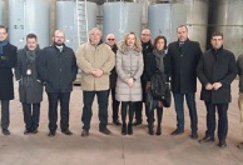 Alegría destaca el apoyo del Gobierno de Aragón a los proyectos de investigación que dan valor al territorio y puedan generar un mejor empleo y mejores condiciones para la comunidad