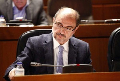Lambán urge a Montoro a reformar el sistema de financiación autonómica y a primar a las comunidades que utilicen sus recursos fiscales
