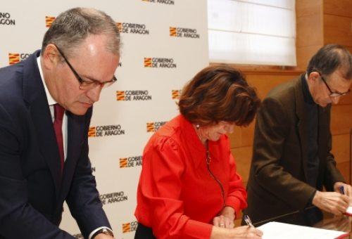 Gobierno de Aragón, Fundación Ecología y Desarrollo y Endesa pondrán en marcha un proyecto piloto contra la pobreza energética en Aragón