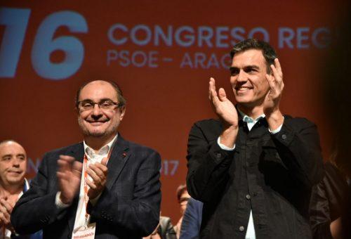 Lambán reivindica el importante papel que ha de representar Aragón para conformar la España del futuro