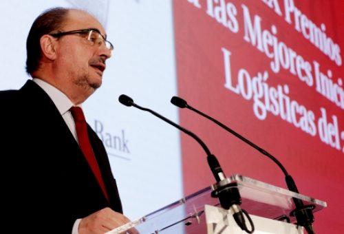 El Gobierno de Aragón recibe el Premio a la Mejor Iniciativa Logística del Año, concedido por El Vigía