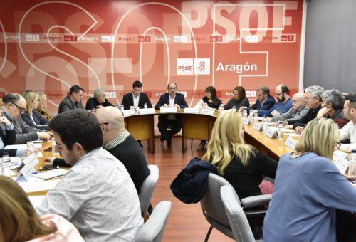 El PSOE Aragón inicia el camino hacia las elecciones de 2019 con grandes foros que culminarán con una Conferencia Política bajo el lema 'Juntos'