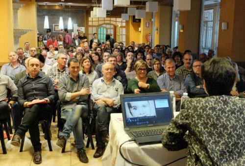 Alrededor de 150 ediles socialistas oscenses debaten sobre el presente y futuro del socialismo y del territorio en las Jornadas de Vilas del Turbón