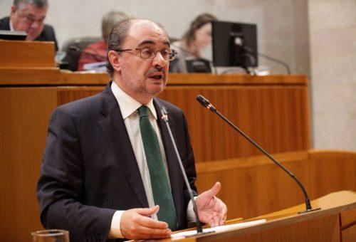 Lambán ofrece al Ayuntamiento de Zaragoza una doble propuesta para rebajar hasta un 20 por ciento el recibo del ICA