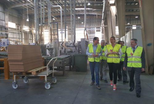 Finsa prevé invertir más de 75 millones en sus dos plantas de Cella y crear 50 nuevos puestos de trabajo