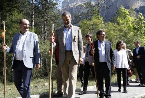 Lambán asegura que la celebración del Centenario del Parque de Ordesa supondrá su consolidación y relanzamiento con más inversiones en infraestructuras