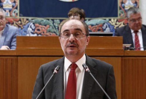 Lambán prueba con su gestión que el Gobierno ha tratado de reconstruir el contrato político y social, rotos por la crisis