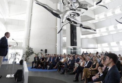 Lambán anuncia un Campus de FP digital y un Centro de Agroalimentación en el recinto Expo