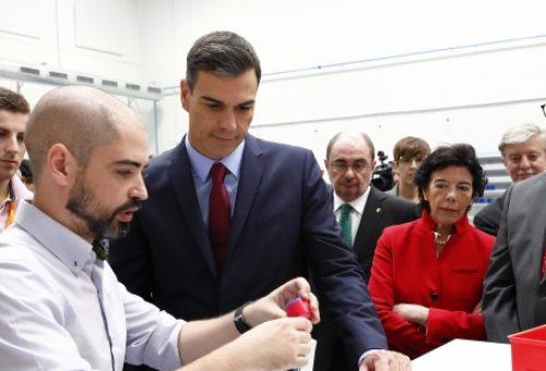 Aragón lidera la Formación Profesional con la primera fábrica de aprendizaje de España, un campus tecnológico y un núcleo formativo en energías renovables
