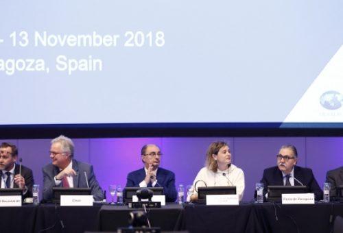 Lambán pone en valor el Legado de la Expo en materia del agua y su continuación en el proyecto Ebro 2030