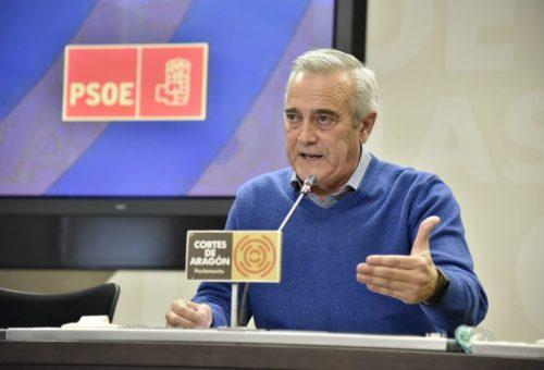 """Sada: """"Está muy por encima mandar un mensaje de que las fuerzas políticas en Aragón estamos tirando del mismo carro que no plantear como podemos sacar algún rédito político"""""""