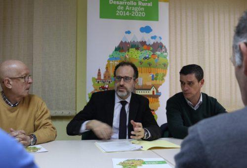 El Programa de Desarrollo Rural ha comprometido 14,8 millones de euros de apoyo público y ha creado 82 puestos de trabajo en el Bajo Aragón