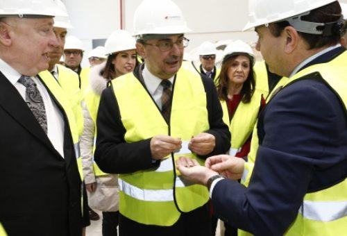 El único proyecto aragonés de Biomasa desarrollado en Erla consolida la mayor planta de producción de pellets