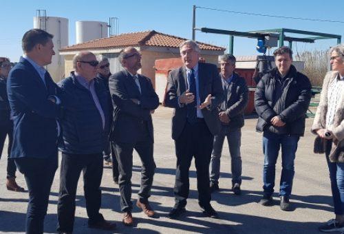La ampliación de la depuradora de Tamarite de Litera dará servicio a 8.642 habitantes equivalentes