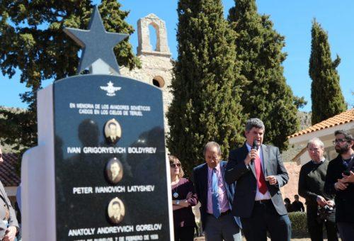 Embid subraya en Mora de Rubielos que la Memoria Democrática también atraerá turismo a Aragón