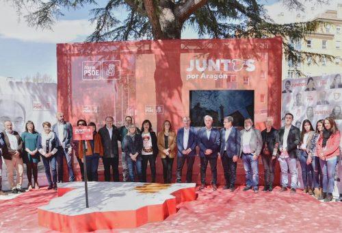 Javier Lambán anuncia que el 29 de abril Renfe comenzará la licitación de los nuevos trenes que sustituirán a los 'infames tamagochis' que trajo el PP en Teruel
