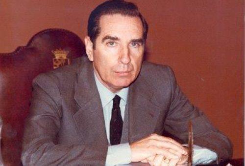"""Lambán: """"Gaspar Castellano fue un político clave en la Transición en Aragón. Era una fuente de sabiduría política, de prudencia y talante"""""""