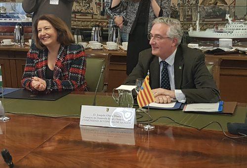 Olona en el Consejo Consultivo de Política Agraria