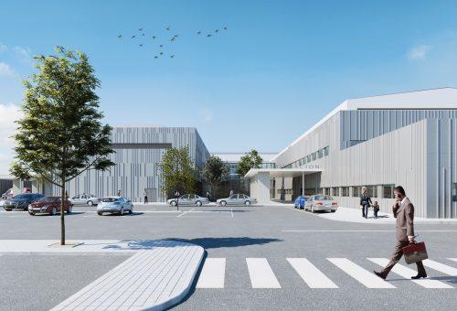 El SALUD recurrirá la orden de paralización de las obras del Hospital de Teruel notificada por el ayuntamiento