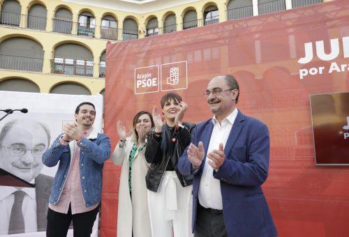 """Lambán destaca que en Aragón es donde más ha descendido el paro femenino en estos últimos 4 años """"lo que demuestra que somos un gobierno profundamente feminista"""""""