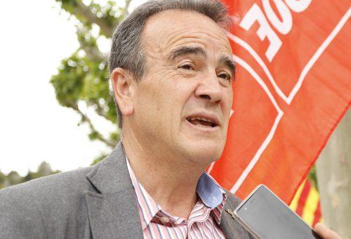 """Sánchez Quero hace un llamamiento a votar al PSOE """"para apuntalar el progreso en los ayuntamientos, la provincia, Aragón y Europa"""""""