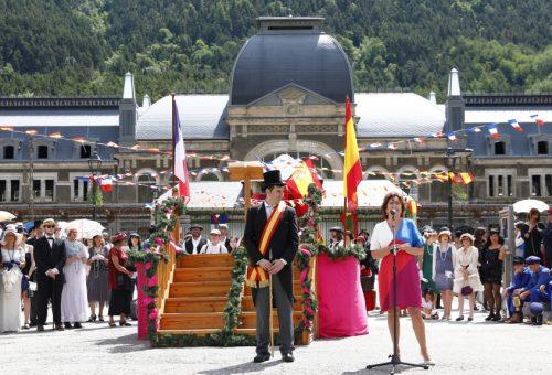 """Broto: """"El Gobierno de Aragón siempre ha reivindicado que la estación de Canfranc vuelva a ser un punto importante en las relaciones económicas entre Francia y España"""""""