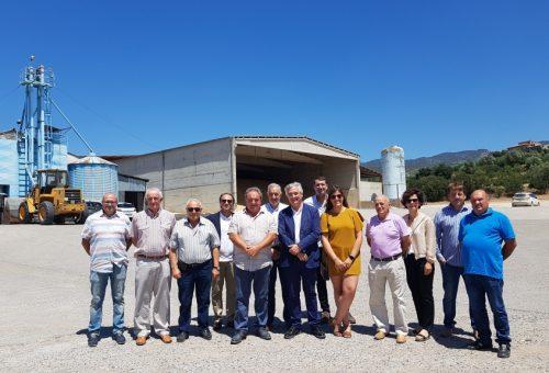 Olona destaca en Estadilla la importancia del asociacionismo para impulsar el sector agrario y mantener vivos los pueblos aragoneses