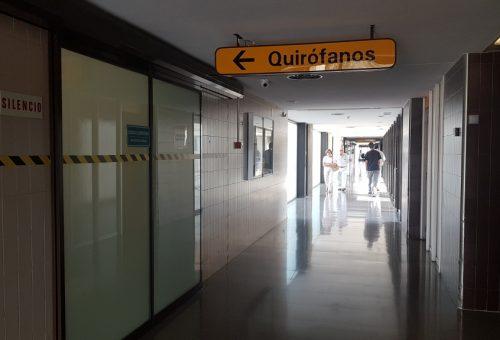El Hospital Ernest Lluch de Calatayud comienza la reforma de su bloque quirúrgico para mejorar la calidad asistencial