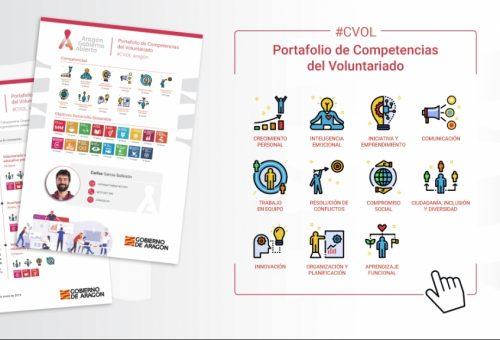 Casi 140 programas de voluntariado están reconocidos ya por el Gobierno de Aragón a través del Portafolio de Competencias del Voluntariado CVOL