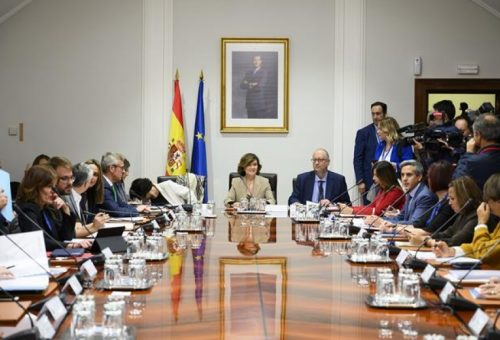 """Mayte Pérez, consejera de Presidencia: """"Avanzar en la información y en la coordinación supone ganar terreno a la violencia de género"""""""