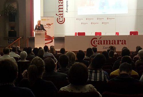 Gastón pone en valor la diversificación de mercados por parte de las empresas aragonesas frente al Brexit