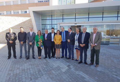 """Mayte Pérez, consejera de Presidencia: """"La residencia San Hermenegildo está en la vanguardia a nivel nacional"""""""