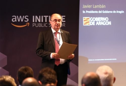 El Gobierno de Aragón tramitará el proyecto de Amazon Web Services como Plan de Interés General de Aragón para agilizar trámites