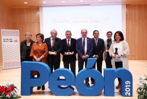 La Fundación Rey Ardid celebra su 28 aniversario con la entrega de los XIII Premios Peón en plena fase de crecimiento