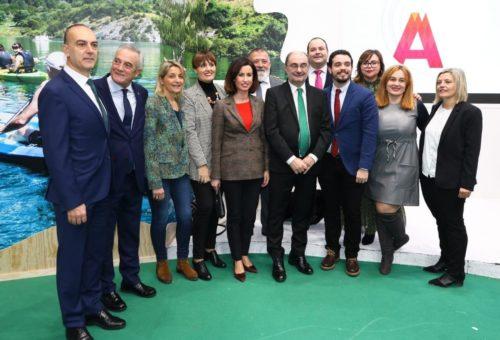 Aragón apuesta en Fitur por liderar el turismo de interior en España