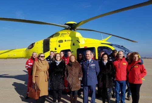 Aragón, primera comunidad en incorporar suministro de sangre en los helicópteros de emergencia