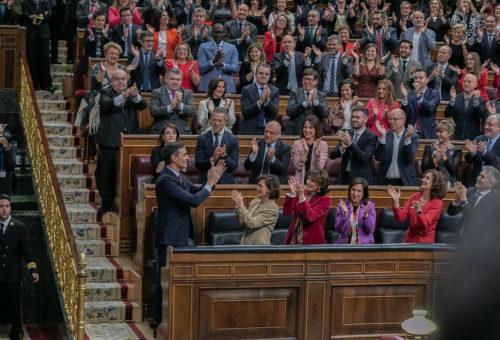 El PSOE Aragón felicita a Pedro Sánchez como nuevo presidente del Gobierno