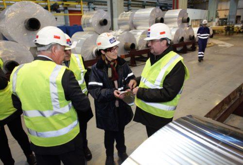 Aragón trabaja con el tejido empresarial en una autorización que amplíe sus actividades industriales esenciales