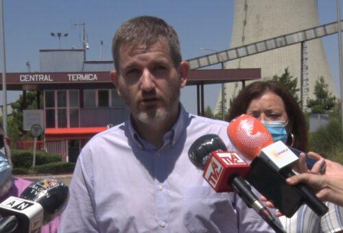 """El PSOE Teruel apuesta por """"trabajar desde la máxima unidad"""" para garantizar el empleo tras el cierre de la térmica de Andorra"""