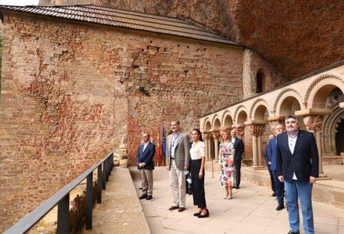 Los Reyes visitan Aragón y ponen el valor el sector turístico de la comunidad