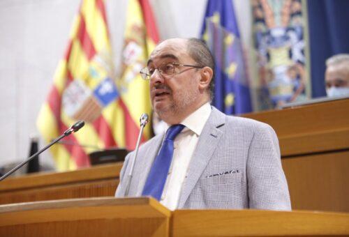 """Lambán renovará su compromiso con """"el pacto y el diálogo"""" en el debate del estado de la comunidad"""