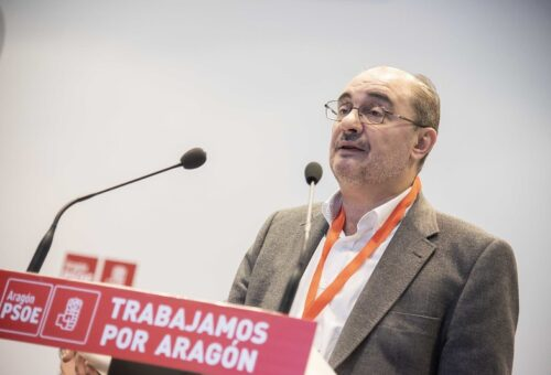 Javier Lambán, uno de los líderes políticos con mejor reputación de España