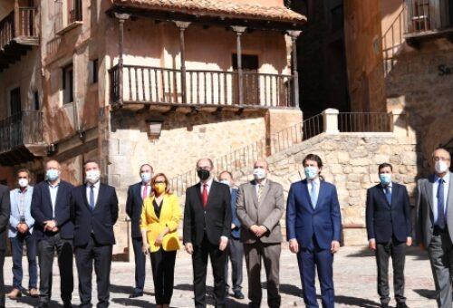 Lambán, García-Page y Mañueco reclaman agilizar el nuevo mapa de ayudas UE para afrontar la dinamización del medio rural