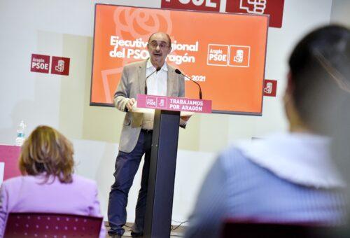 """Villagrasa: """"El PSOE Aragón está orgulloso del ejercicio legislativo que ha realizado el Gobierno de Lambán para hacer frente a la pandemia"""""""