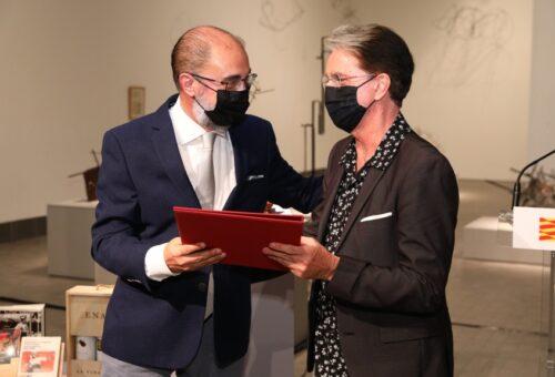 Julián Casanova recibe el Premio de las Letras Aragonesas 2020 por su calidad científica y capacidad de divulgación