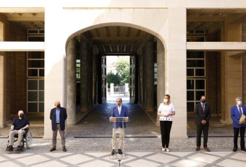 El Gobierno de Lambán y los agentes sociales comienzan a trabajar en la actualización de la Estrategia Aragonesa de Recuperación Económica y Social